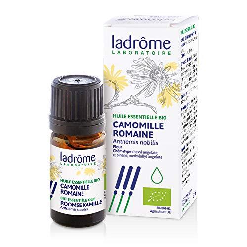 Ladrôme Huile Essentielle Camomille Romaine (Anthemis nobilis) Bio 5 ml