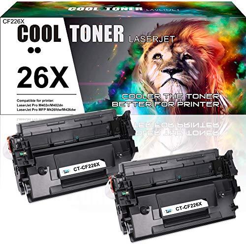 Cool Toner Compatible Toner Cartridge Replacement voor CF226X CF226A 26X Toner voor HP Laserjet Pro MFP M426FDW M426FDN M426DW M402DN M402D M402N M402dw Laserprinter