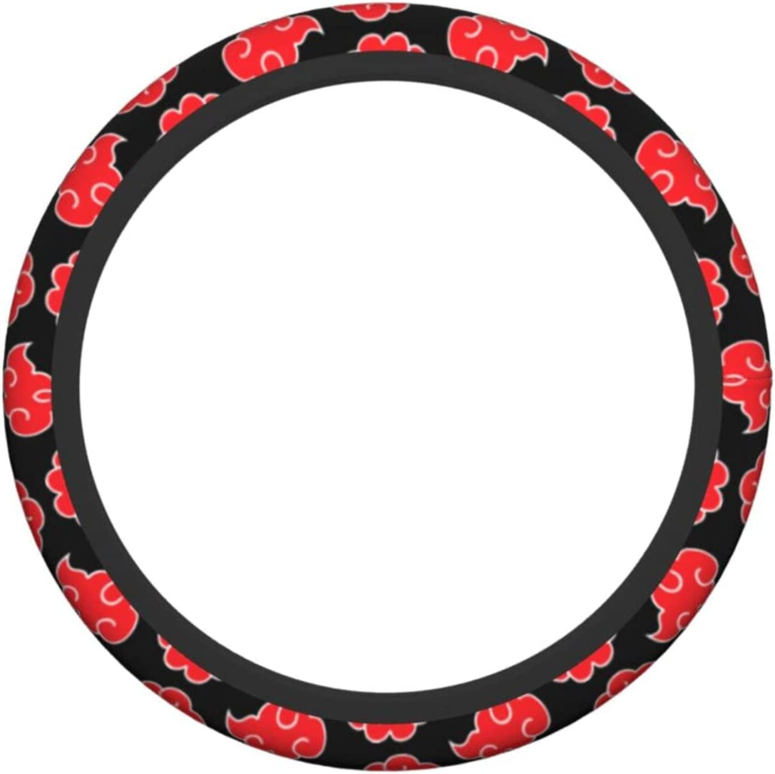Red Cloud Auto Car Steering Wheel Cover anime N1
