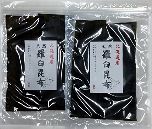 北海道産 天然 羅臼昆布 (45g x 2袋)