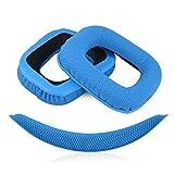 Geekria Almohadillas de Repuesto para Auriculares Logitech G430 G930...