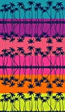 DHestia. Toalla de Playa Grande de Algodón 100x170 cm. Palm Mirror