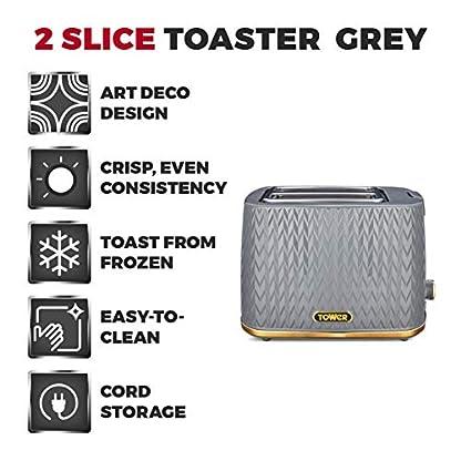 Tower-Empire-2-Scheiben-Toaster