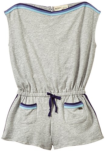 Roxy Marine Combi-Short à Manches Courtes Fille, Heritage Heather, FR (Taille Fabricant : 14/XL)