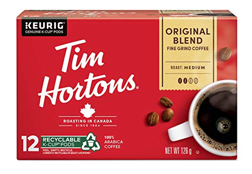 Tim Horton's K-Cup Original 12 Count,Red