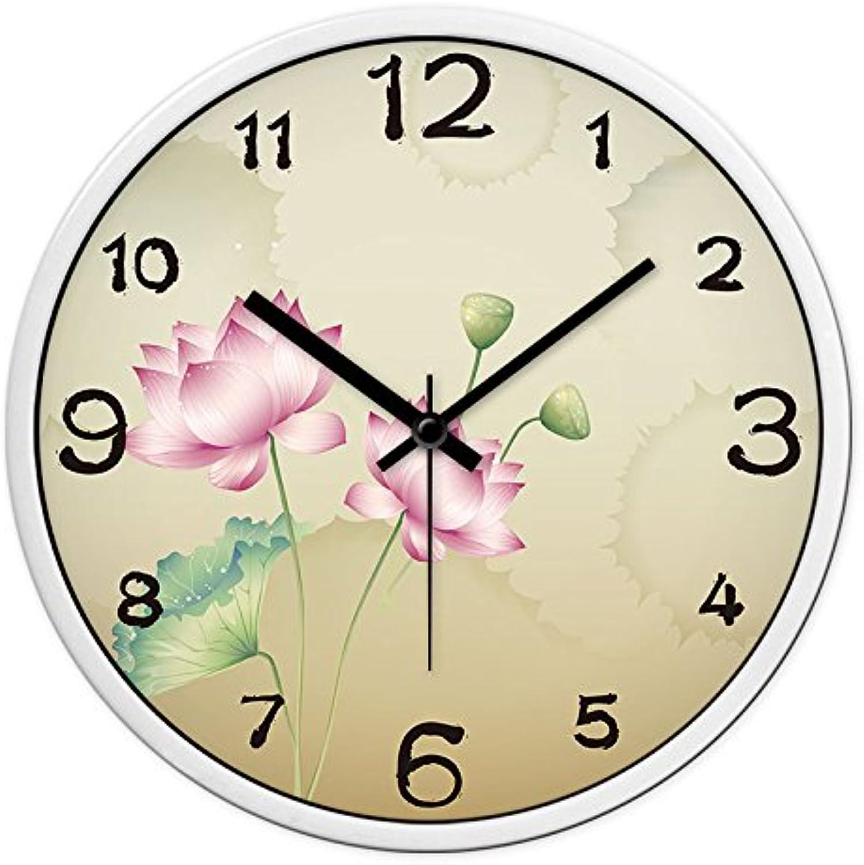 ahorra hasta un 70% WERLM Reloj de Parojo para la decoración del hogar, hogar, hogar, jardín Watch es un Restaurante Familiar Office Room es el Lugar Ideal para Cualquier habitación 14A, Cuadro en blancoo y Negro  tienda de bajo costo