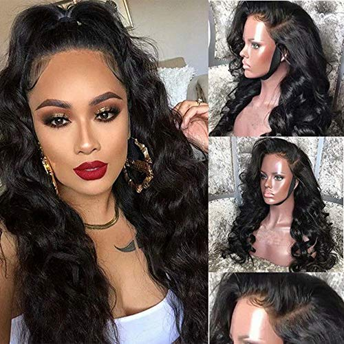 360 Lace Frontal Wig Cap With Baby Hair Body Wave 22 inch Brazilian Virgin Hair 100% Unprocessed Human Hair Wigs For Black Women