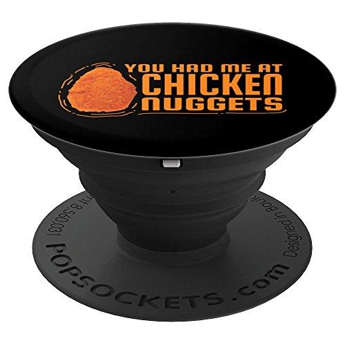 You Had Me At Chicken Nuggets Geschenk Fun - PopSockets Ausziehbarer Sockel und Griff für...