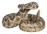 Pacific Giftware Realist Look Rattle Snake Resin Figurine Statue