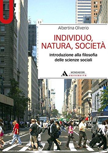 Individuo, natura, società. Introduzione alla filosofia delle scienze sociali