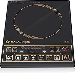 Bajaj Majesty ICX 7 1900-Watt Induction Cooktop (Black) - Best Induction Cooktop in India