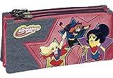 DC Super Hero Girls Stars Mochilas Infantiles, 23 cm, Multicolor