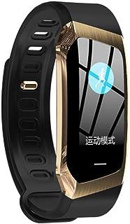 Lhlbgdz Pulsera Inteligente Monitor de Ritmo cardíaco rastreador de Ejercicios Vida Impermeable IP67 se Divierte el Reloj para Android e iOS