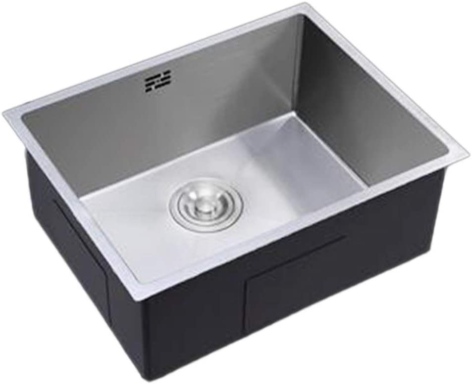 TJLSS Sinks Undercounter Single Basin Multi-Size Indefinitely 304 S Direct stock discount Stainless