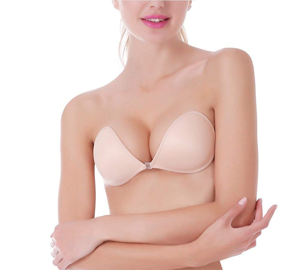MITALOO Strapless Adhesive Invisible Backless
