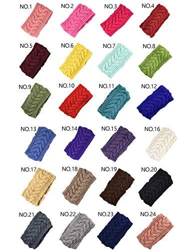 Diadema lana cáñamo europeo americano cubierta cabeza