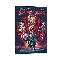 映画ポスター悪魔的パニックキャンバスプリントポスターアート写真家の壁の装飾絵画20×30インチ(50×75cm)