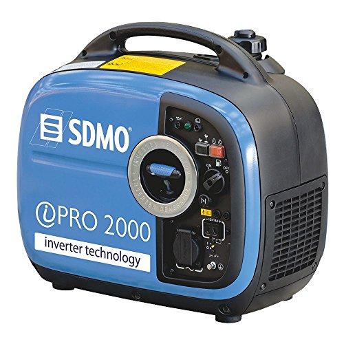 SDMO IPRO2000 2kW Yamaha MZ79 Super Silent Suitcase Inverter Generator