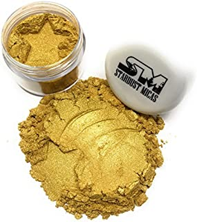 Stardust Micas Pigment Powder Cosmetic Grade Colorant for Makeup, Soap Making, Epoxy Resin, DIY Crafting Projects, Bright ...