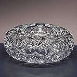 la galaica   Bombonera de Cristal - para Caramelos o Dulces - Colección 3555 - pomo en Plata de Ley 925-16,5x16,5x8 cm. Decoracion