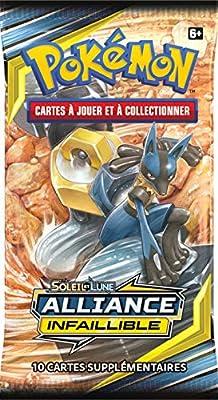 Pokemon- SL10 Booster Soleil et Lune – Alliance Infaillible (Modèle aléatoire), POSL1002