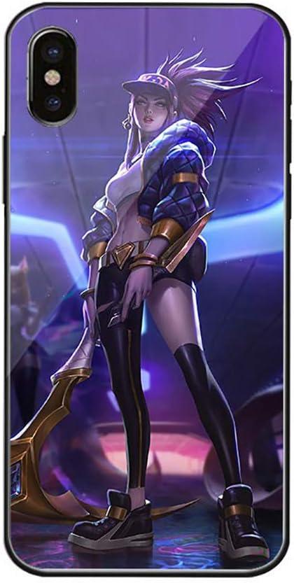 QKCX Coque Anime pour iPhone, League of Legends Coque ...