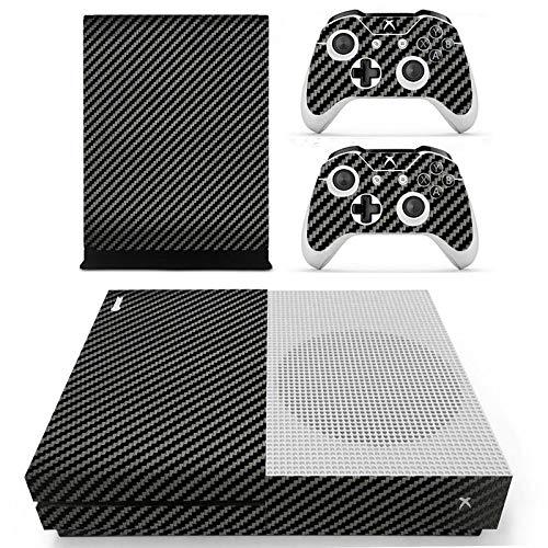 ACTMODZ Xbox One S Folie Sticker Skin Set, 1 Console Designfolie, 2 Xbox One S Controller Aufkleber Schutzfolie, 2 Konsole Power Button Stickers Abziehbilder von eXtremeRate