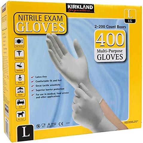 Cheap bargain Kirkland Signature Ranking TOP11 lkWDCx Nitrile Large Exam Glove Multi-Purpose