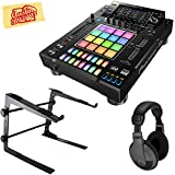 Pioneer DJS-1000 Standalone DJ Sampler Bundle with Stand, Headphones, and Austin Bazaar Polishing Cloth