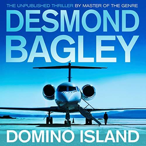 Domino Island audiobook cover art