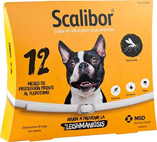 scalibor collier pour chien 48 ou 65 cm
