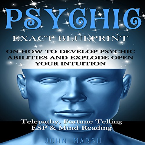 Psychic audiobook cover art