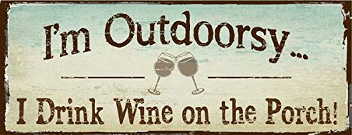 Homebody Accents I'm Outdoorsy I Drink Wine on The...