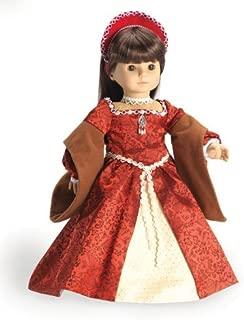 CARPATINA Ann Boleyn Christmas Dress for American Girl Dolls