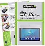 dipos I 2X Schutzfolie matt kompatibel mit Sony Xperia Z4 Tablet Folie Bildschirmschutzfolie