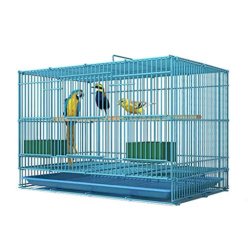 Gabbie per uccelli decorative Gita di uccelli in ferro battuto con supporto per i pappagalli per pappagalli con diurea cockatiel, grande gabbia di volo per uccelli per la maggior parte degli uccelli-