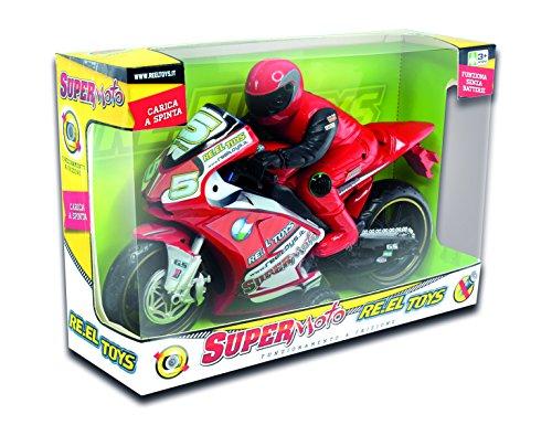 RE.EL TOYS Big Super Moto A Frizione Cm 32 Moto Gioco Maschio Bimbo Bambino 795