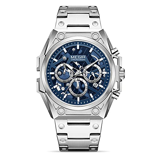 Reloj - Megir - Para - TTMG4220S-Silver