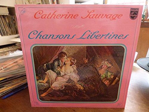 Catherine sauvage : chansons libertines disque philips 849.464