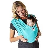 Baby K 'Tan - Fular Portabebés – Modelo Breeze Transpirable 100% Algodón,...