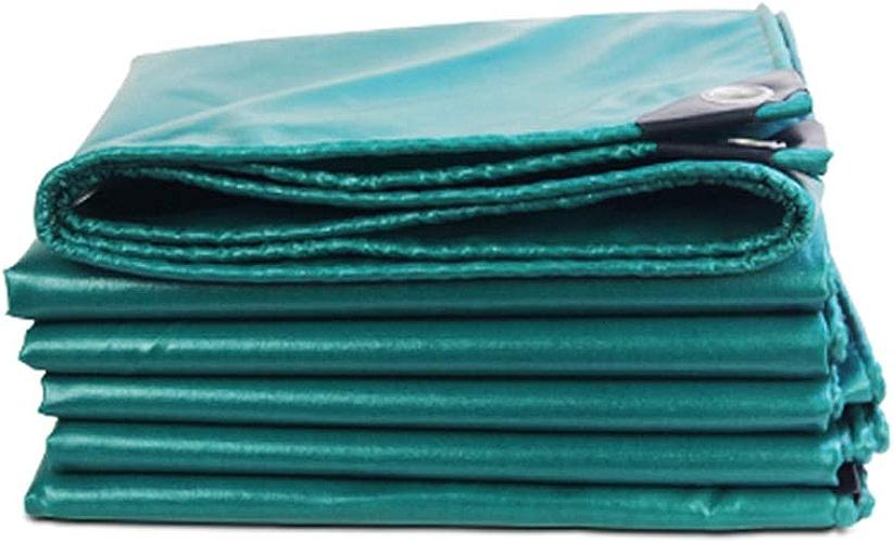 Zhanghongshop Le Tissu imperméable extérieur Vert foncé est imperméable et antipoussière approprié à la Construction de Tente de Transport de Camion (Couleur   4X5M)