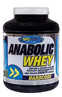 NRG Fuel 2 kg Banana Anabolic Whey Supplement