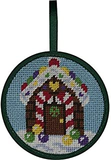 Alice Peterson Stitch-Ups Gingerbread House Needlepoint Ornament Kit