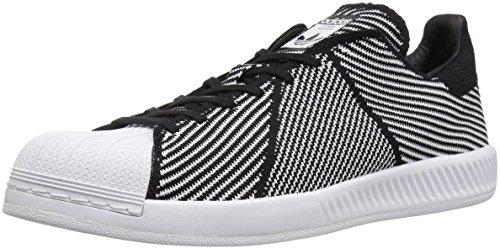 adidas Originals Men's Superstar Bounce PK Running Shoe, R Core Black White FTW, 11.5 Medium US