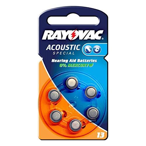 Varta V 13 Acoustic Zink/Luft 1,4V 240mAh Hörgeräte-Zelle 6erPack