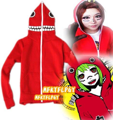 Hatsune Miku Gumi Matryoshka Doll Cosplay hoodie, rot, Größe XXL:(Höhe 172-176cm,Gewicht 70-80kg)