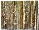 Plantas Artificiales Decorativas Cercas Decorativas vinculantes Sombra de jardín Duradera Debajo de la pérgola Valla de bambú para Pantalla de privacidad