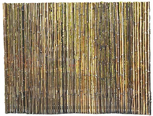 KANULAN Decorative Fences binding Durable Garden shadow under the pergola Bamboo Privacy screen fencegarden fence