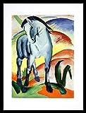 Franz Marc Blaues Pferd I Monaco Poster Kunstdruck Bild im