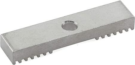 PZRT 1PCS GT2 Timing Belt Fixing Piece 2GT Timing Belt Aluminum Gear Clamp Mount Block 9X40mm for 3D Printers